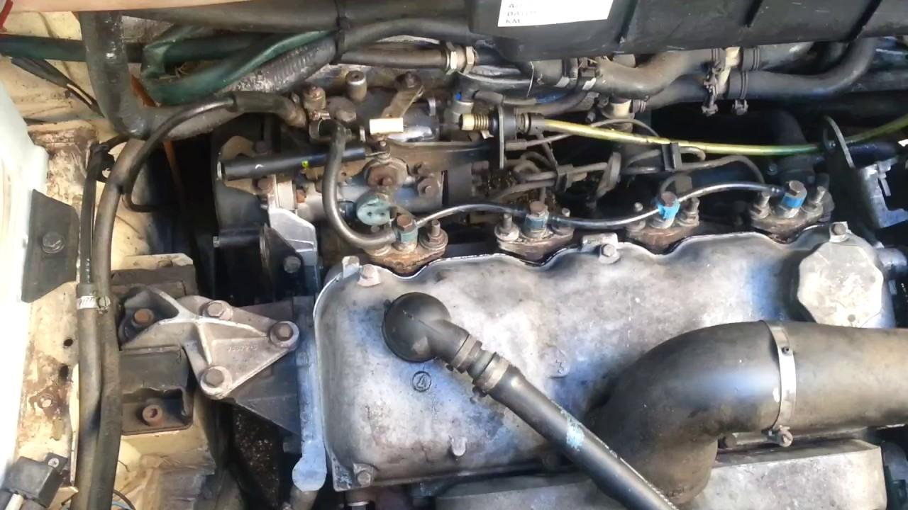Peugeot 280l ГРМ и ТНВД двигателя U25/661
