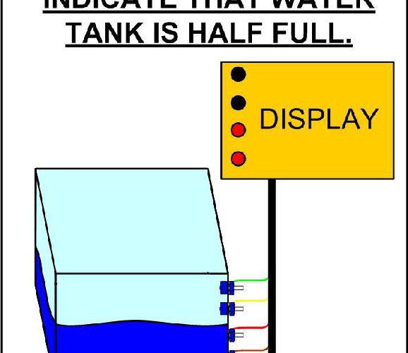 Контроль уровня воды.